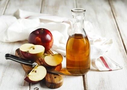 Chữa sùi mào gà bằng giấm táo